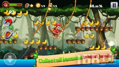 欢乐岛猴子跑酷
