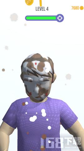 扔蛋糕大战