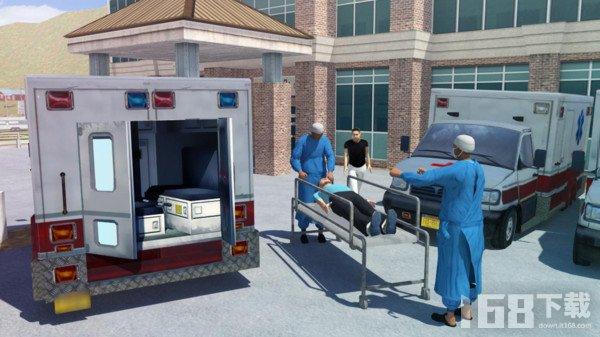 急诊救护车模拟器