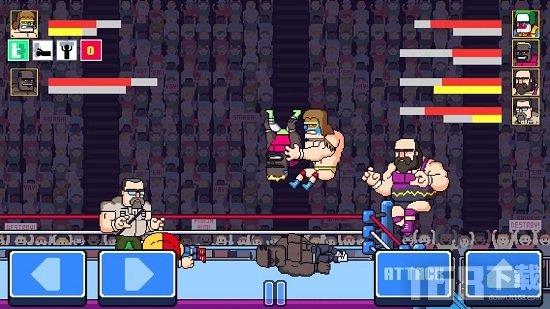 疯狂城市摔跤