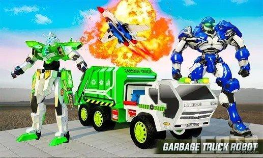 飞行垃圾车机器人改造