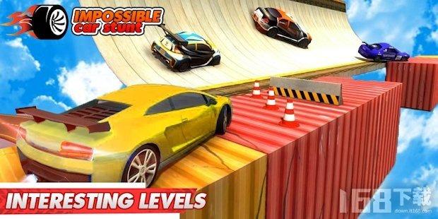 不可能的汽车特技比赛3D