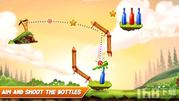 弹射瓶子2