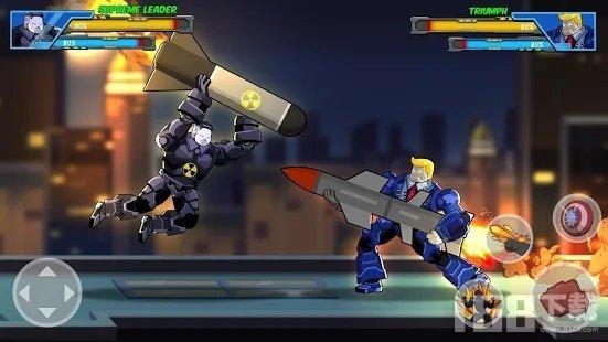 高级机器人超级英雄