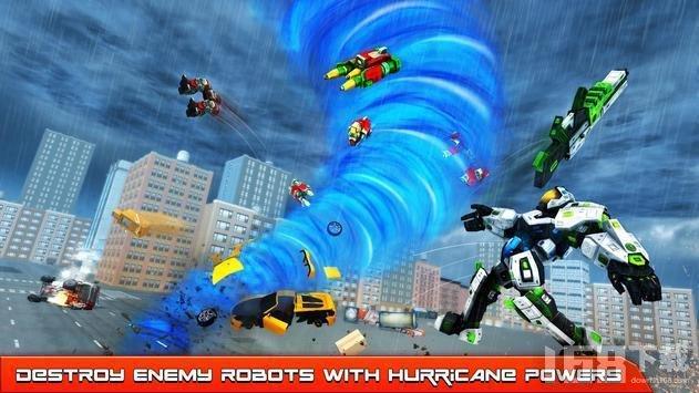飓风龙卷风机器人改造
