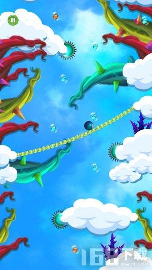 滚动的绳索天空