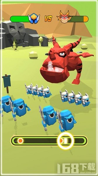 击败怪兽游戏