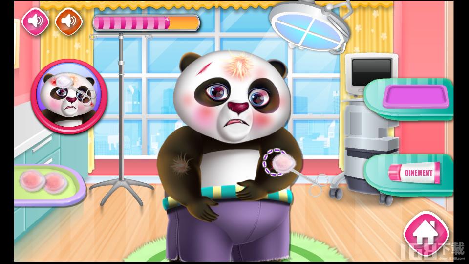 灭火小熊猫