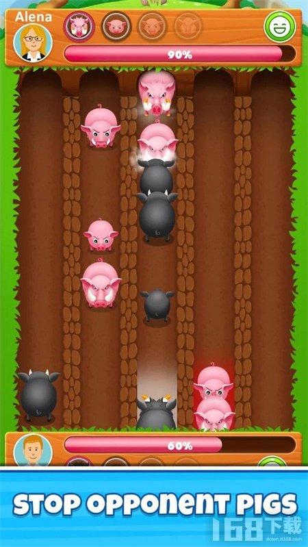 疯狂战斗猪