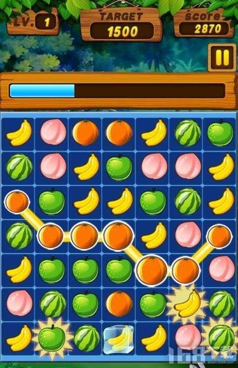 疯狂消水果