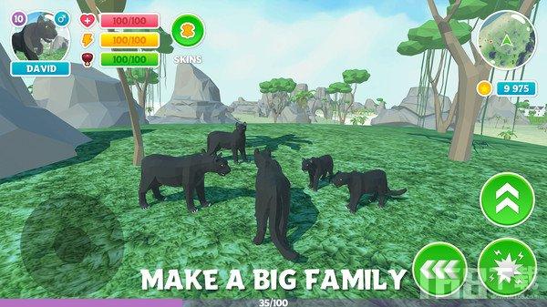 野生黑豹模拟器3D