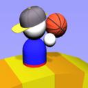 画个篮球快跑