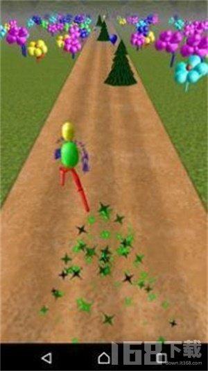 气球赛跑者