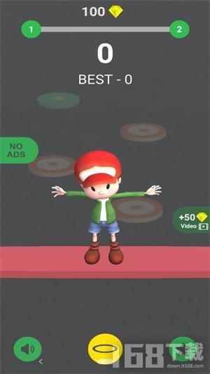 跳舞小男孩3D