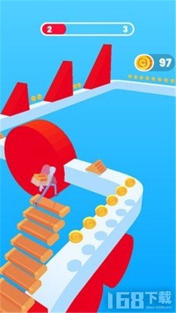 搭楼梯冲冲冲游戏