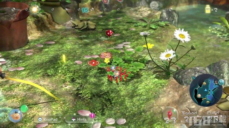 皮克敏3豪华版树屋实机演示 试玩版已上线