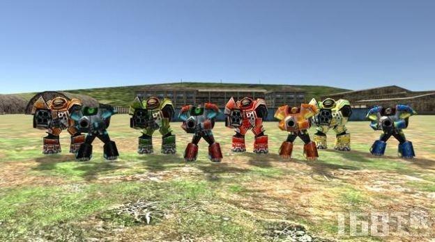 幽灵小队战斗机器人