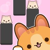 猫咪钢琴砖