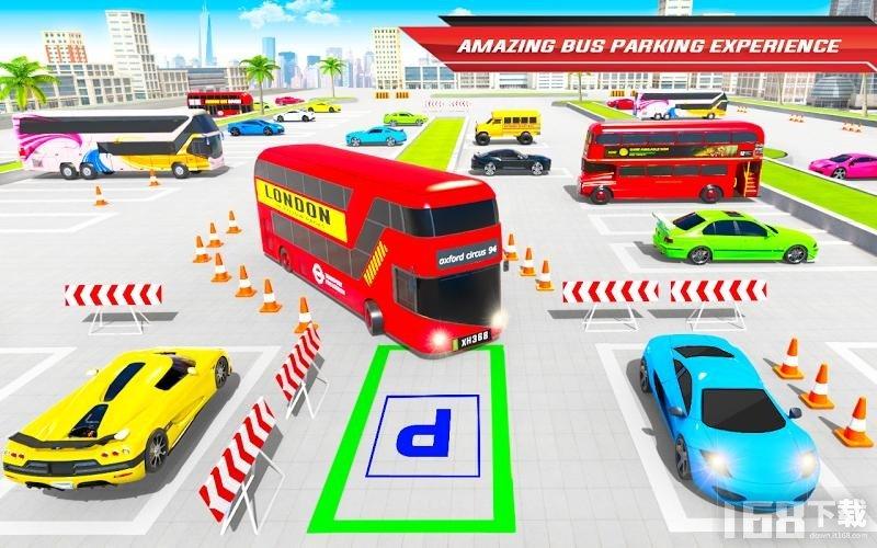 欧洲教练公交车驾驶模拟器