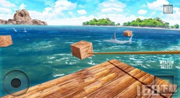 荒岛木筏求生