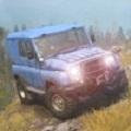 越野车悬崖驾驶