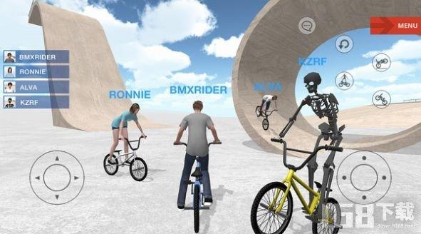 特技自行车模拟