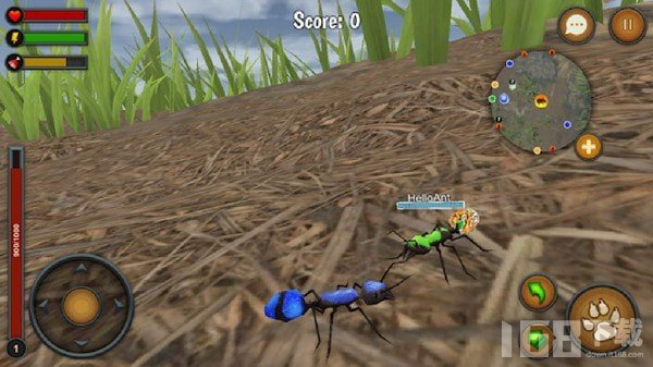 蚂蚁世界模拟器