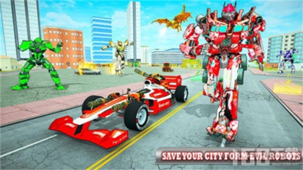 火龙飞行机器人