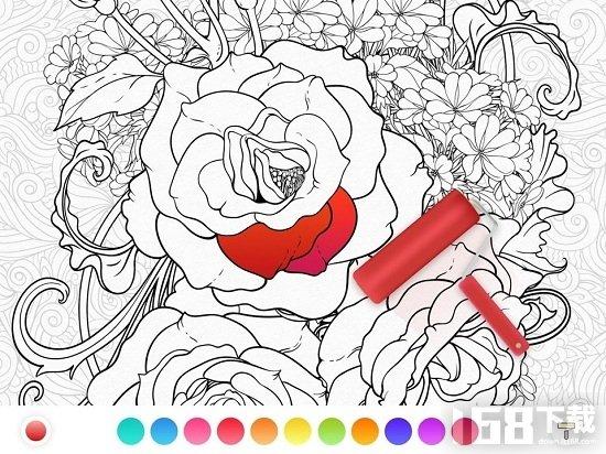 涂色绘画社区