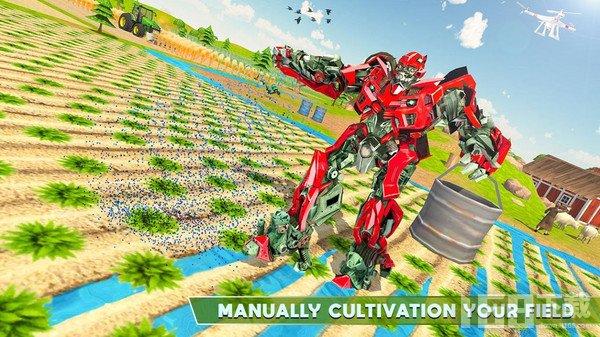 耕种机器人