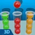 球球排序3D