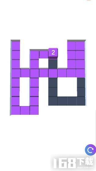 方块涂色3D