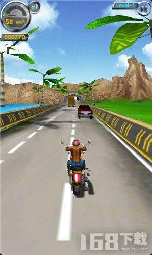 极速摩托车驾驶员