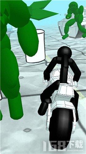 火柴人摩托车逃离