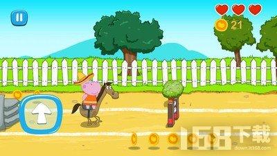 儿童农场赛马