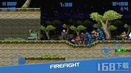 Spartan Firefight