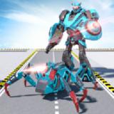 变形蜘蛛机器人英雄