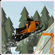 3D冬季雪地车