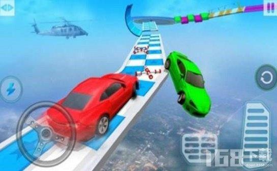 巨型坡道疯狂驾驶