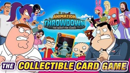 丢掉动画收集卡片