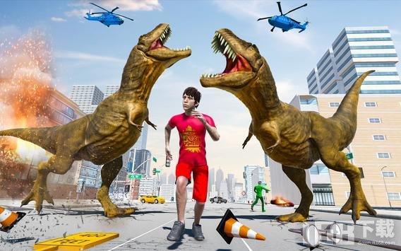 极限城市恐龙粉碎机