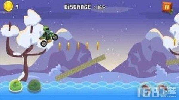 摩托车山地赛车