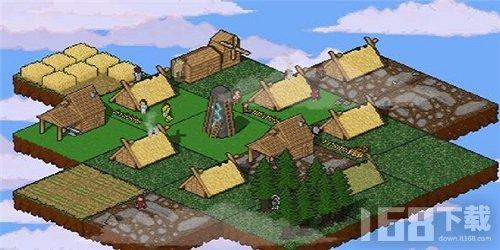 天空中的村庄