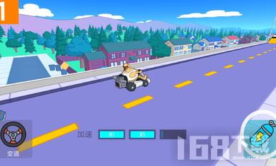卡丁车自由比赛
