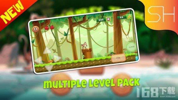 猴子香蕉丛林探险