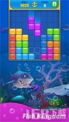 块拼图水族馆