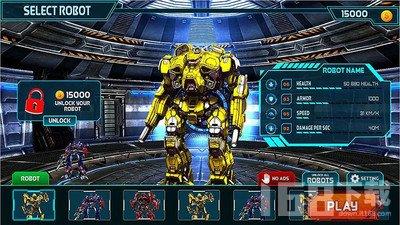变形金刚战争机器人