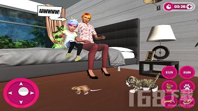 虚拟宠物猫的冒险