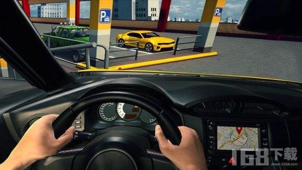 新车3D停车
