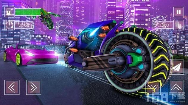 摩托飞车未来城市